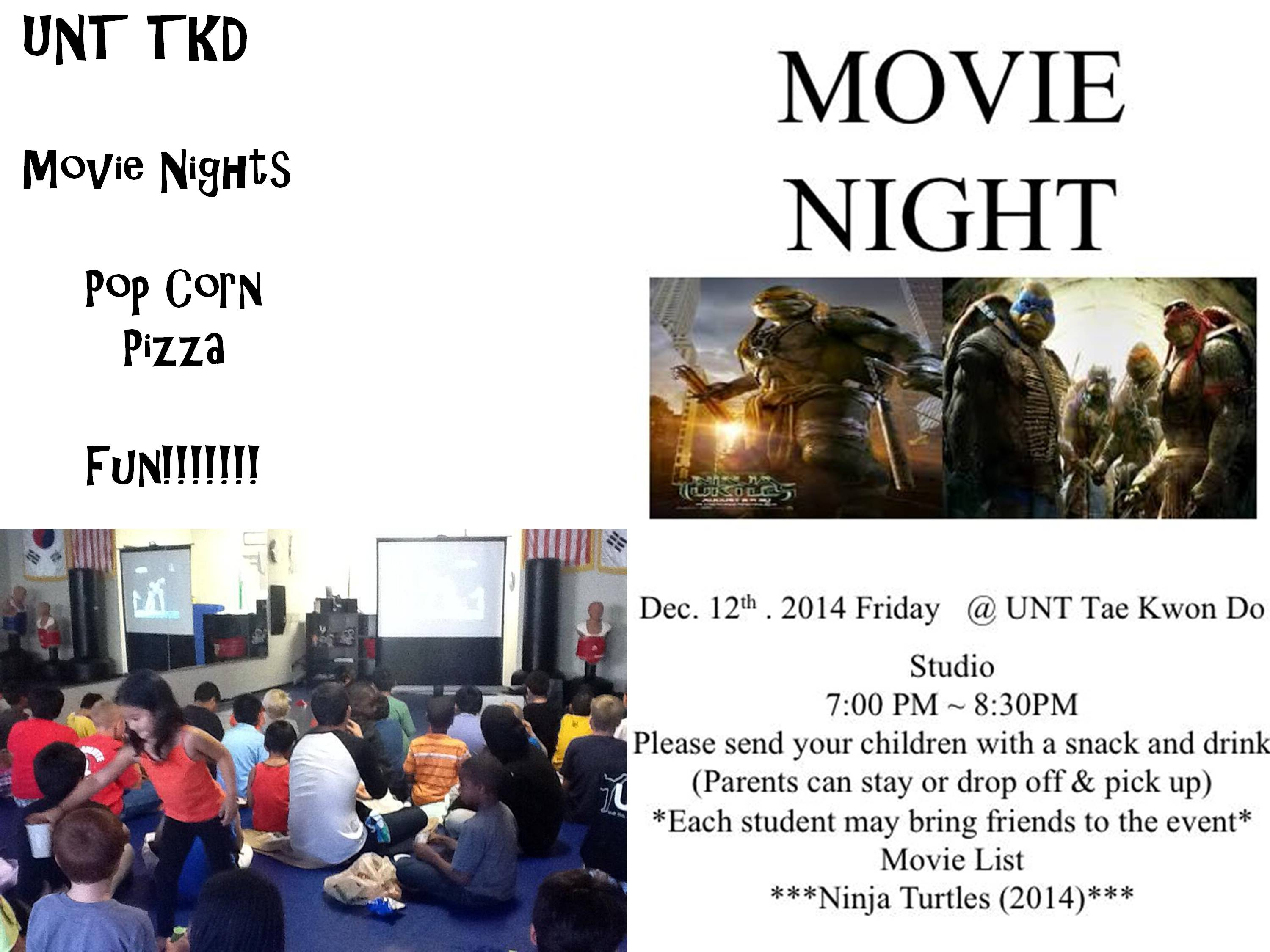 Movie Nights - on Special Fridays